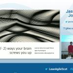7 (plus oder minus 2) Arten, wie dein Gehirn dich reinlegt